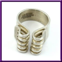 Anna Greta Eker Ring 925 Bend Design 1
